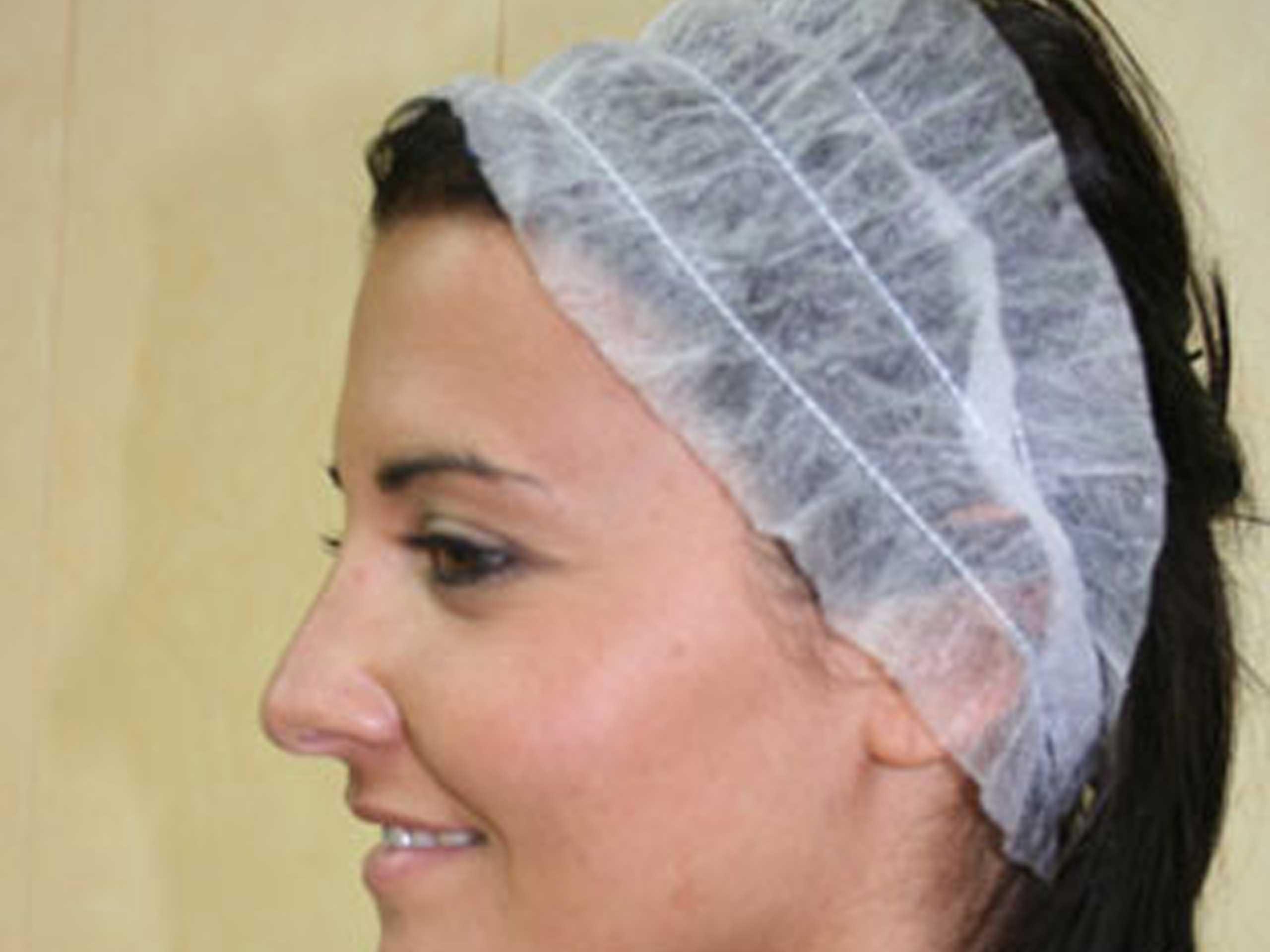 Diademas desechables para peluquería y estética