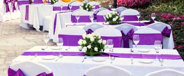 Material textil de un solo uso para Catering y Celebraciones