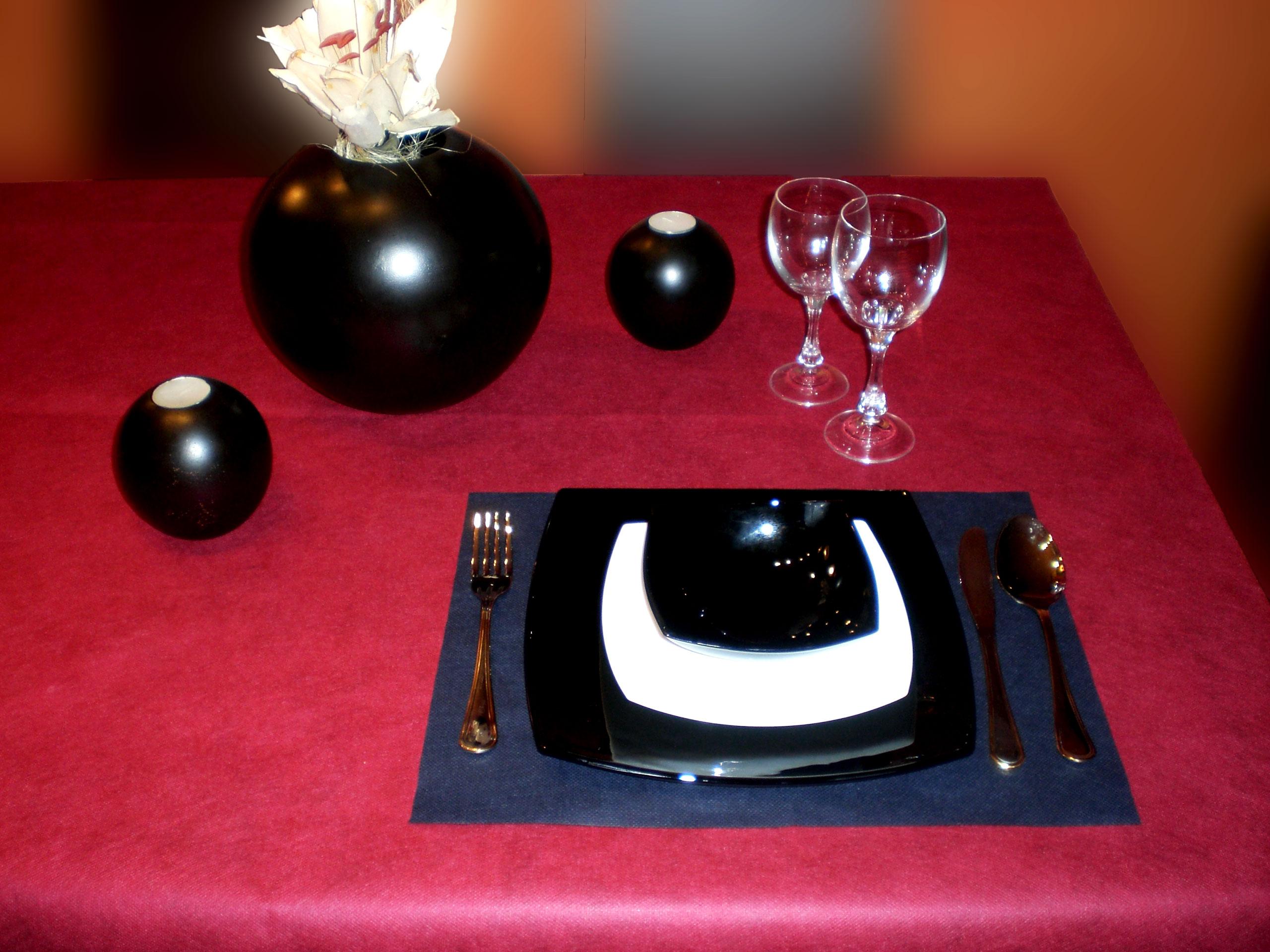 Manteles individuales de un solo uso para restaurantes