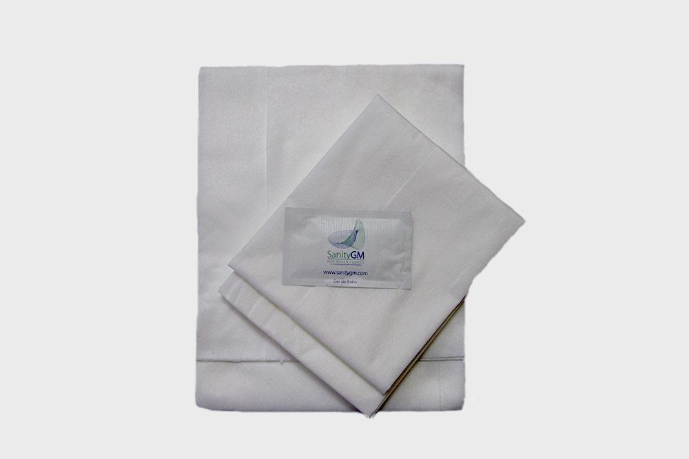 Kit de toallas desechables para uso sanitario hospitalario