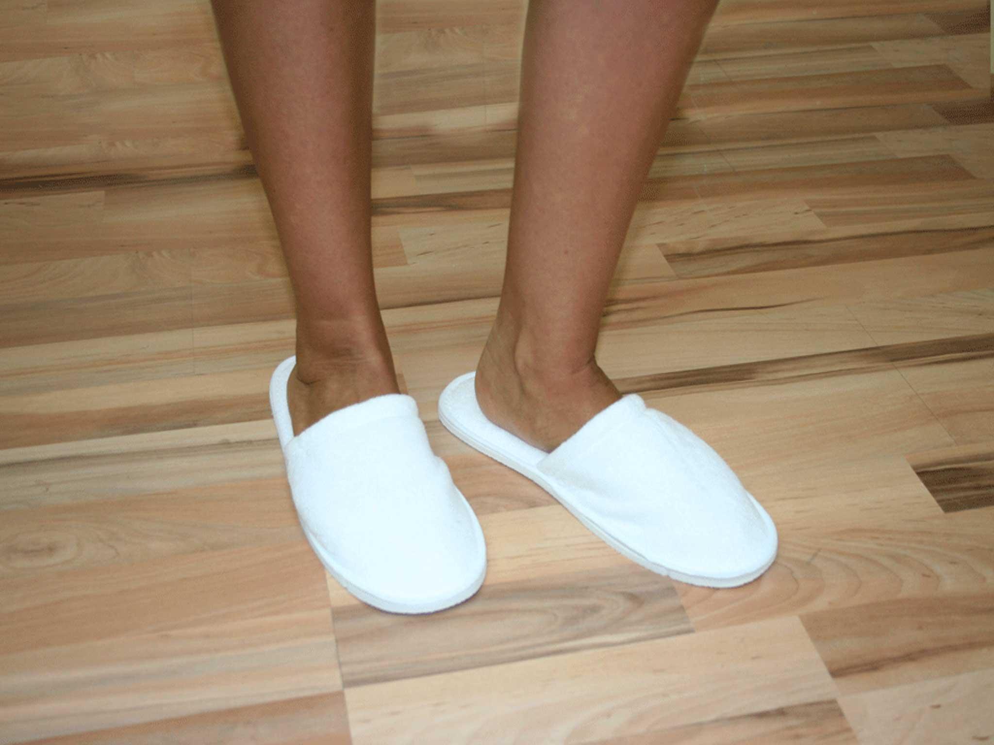 Zapatillas desechables Rizo Cerradas para hoteles